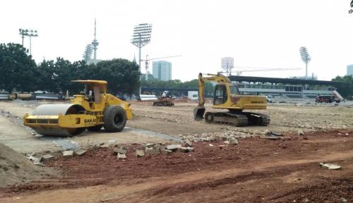 Foto Wagub DKI Minta Percepat Pembangunan Infrastruktur Asian Games