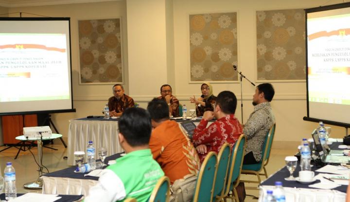 Foto Berita KSPPS/USPPS Bisa Kelola Dana Zakat dan Wakaf