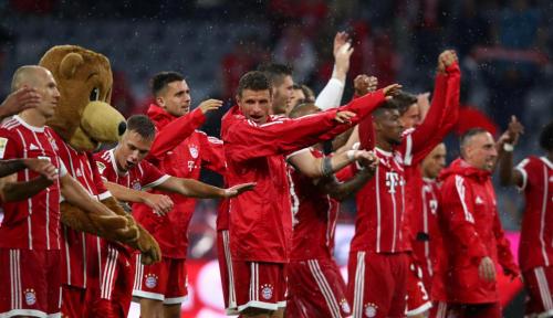 Foto Babat Bremen, Muenchen Makin Tak Terkejar di Bundesliga