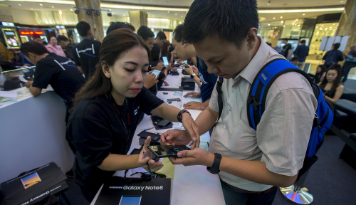 Foto Layanan Dompet Digital Dana Hadir di Indonesia
