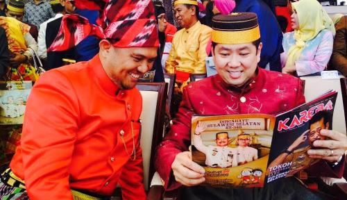 Foto Gubernur Sulsel Sebut Bos MNC Minat Investasi di CPI
