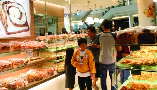 Foto Gandeng Caffebene, Sari Roti Ekspansi Bisnis ke Korea Selatan