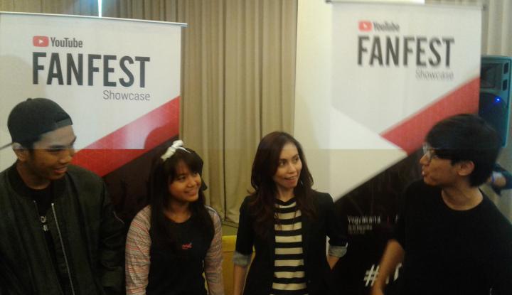 Foto YouTube FanFest Showcase Hadir di Bandung