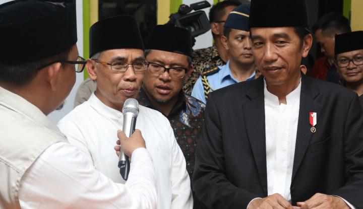 Foto Berita OJK Dampingi Presiden RI Silaturahmi Bank Wakaf Mikro