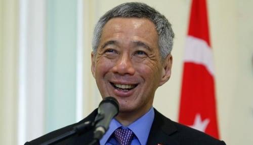 Foto PM Lee: Perang Dagang Berdampak Negatif ke Singapura