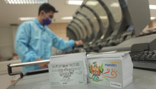 Foto Bank Mandiri: Tak Ada e-Money Berkonten Politik