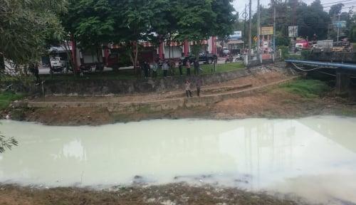 Foto Buang Limbah ke Sungai, PDAM Balikpapan Kena Semprot