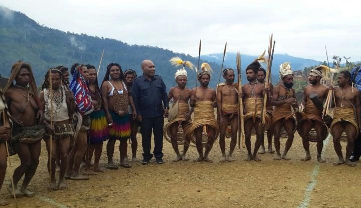 Foto Kabupaten Yahukimo Papua Segera Punya Dua Tower 4G