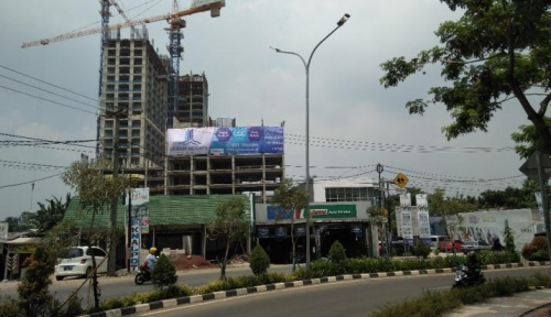 Foto Jelang Topping Off, Urban Heights Residence Makin Diminati