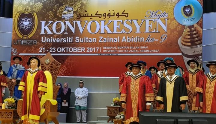 Foto Berita Di Malaysia Gubernur Sulsel Dianugerahi Doktor Honoris Causa