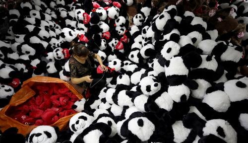 Foto Go Online, China Catatkan Penjualan Ritel Online 4,9 Triliun RMB Yuan