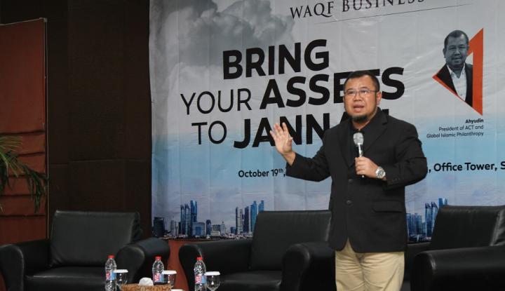 Foto Berita Waqf Business Forum Ajak Perusahaan Berwakaf Saham