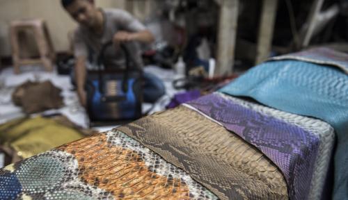 Foto Agustus, Bali Catatkan Ekspor Kerajinan Kulit US$818 Ribu