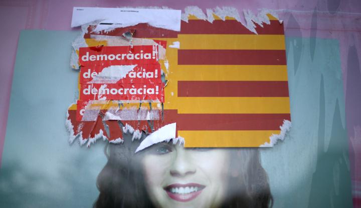 Foto Panas, Catalunya: Spanyol Ingin Bubarkan Parlemen Demokratis