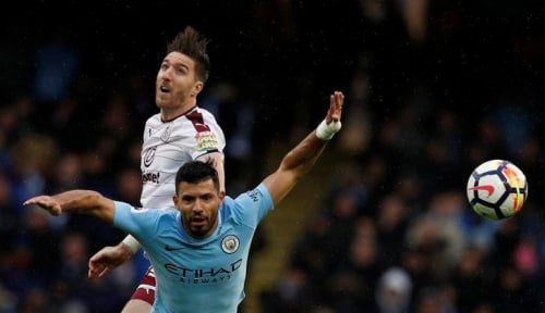 Foto Manchester City Bikin Burnley Babak Belur 3-0