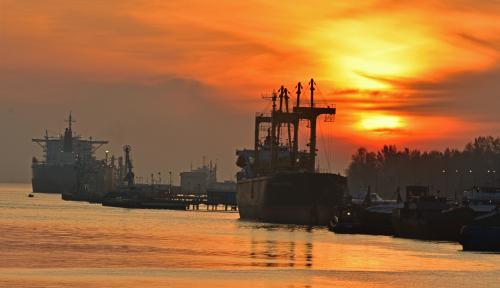 Foto Mulai dari Logistik Hingga Keamanan, Ini Manfaat Blockchain di Pelabuhan
