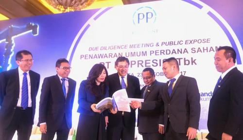 Foto PP Presisi Yakin Kinerja Moncer Tahun Depan