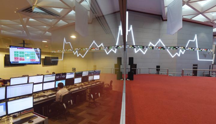 Foto Berita IHSG Kembali ke Level 6.600