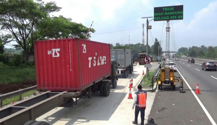 Foto Berita Korlantas Akan Berlakukan Tilang Ganjil-Genap di Jalan Tol