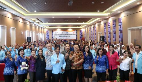 Foto Askrindo Gelar Kampanye Inklusi Asuransi ke Guru Paud se-Denpasar