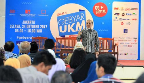 Foto Sesmenkop dan UKM: Jumlah Wirausaha Baru di Idonesia Naik Jadi 3,1 Persen