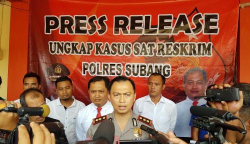 Foto Polres Subang Tangkap Empat Pelaku Pembunuh Kipli