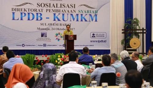 Foto Baru Terealisasi Rp12 Miliar, LPDB Jemput Bola di Sulawesi Barat