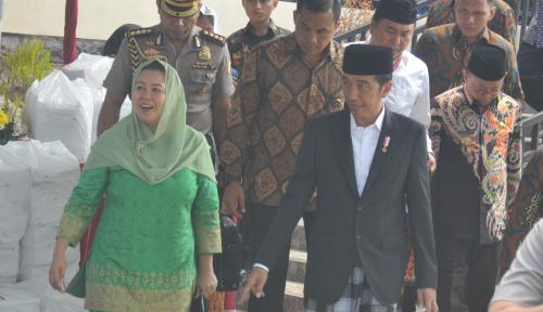 Foto Santri di Lombok Doakan Jokowi Dua Periode