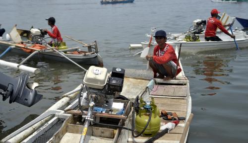 Foto 1.114 Nelayan Bangka Sudah Punya Polis Asuransi
