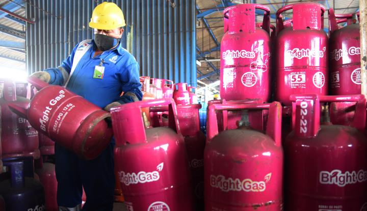 Foto Berita Pertamina Turunkan Harga Bright Gas