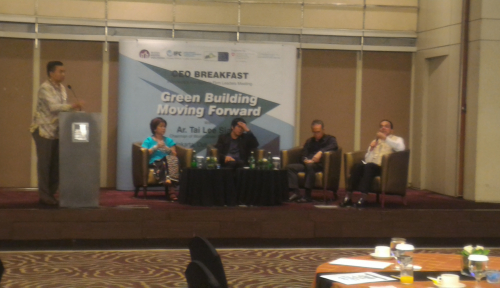 Foto Dorong Penerapan Green Building, FC Gandeng IAI dan GBC