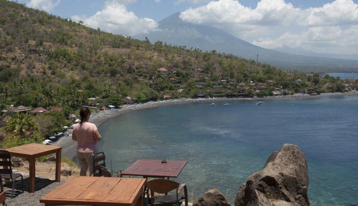 Foto Berita Kini, Wisatawan Rusia dan Malaysia Mulai Bergairah ke Bali