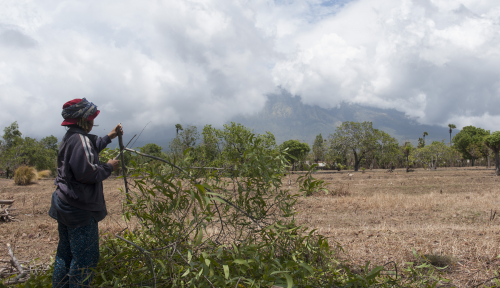 Foto Radius Bahaya Gunung Agung Murni Keputusan Teknis Vulkanologi