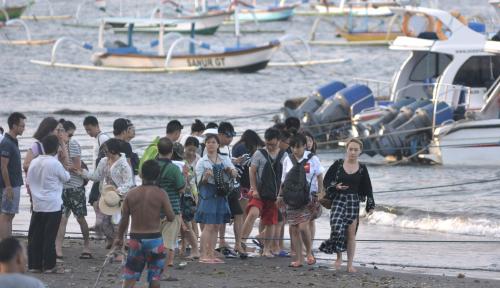 Foto ASITA: Tahun Politik, Tidak Berpengaruh Terhadap Kunjungan Wisatawan Asalkan...