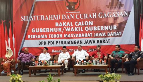 Foto Di Depan PDIP, Dedi Mulyadi Beberkan Pembangunan Jabar dengan Filsafat Sunda