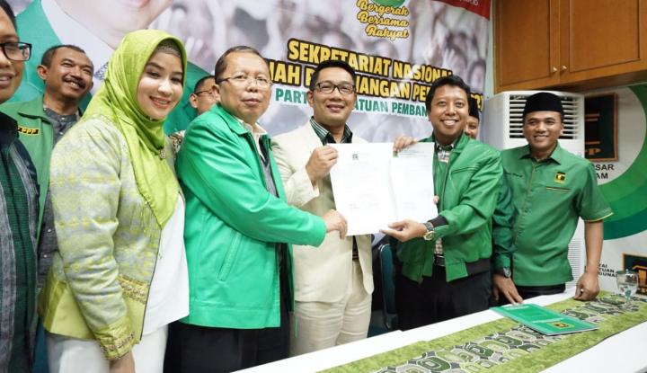 Foto Berita PPP Ingin Ridwan Kamil Tentukan Sendiri Pendampingnya