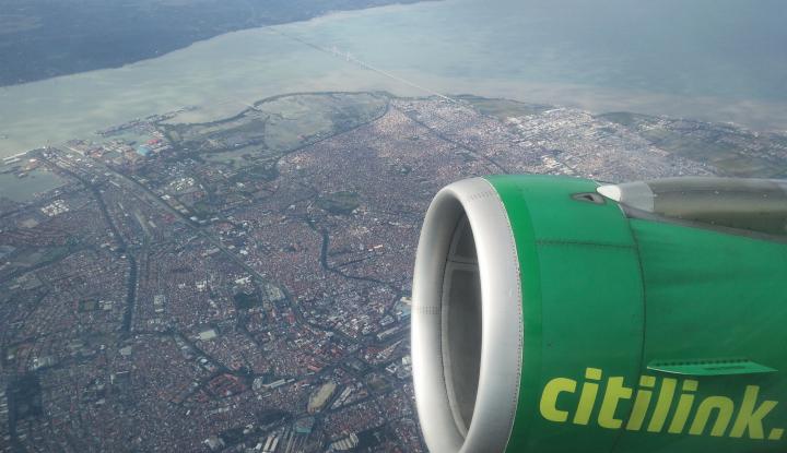 Foto Berita Citilink Cermati Penerbangan Terkait Adanya Erupsi Sinabung