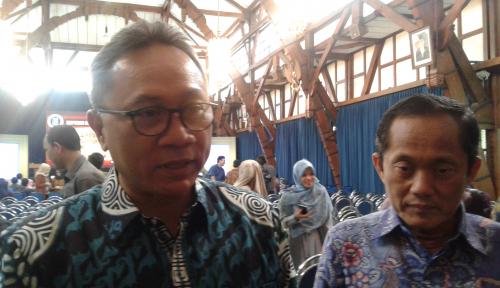 Foto Di AS, Ketua MPR Pamer Kekuatan Toleransi Indonesia