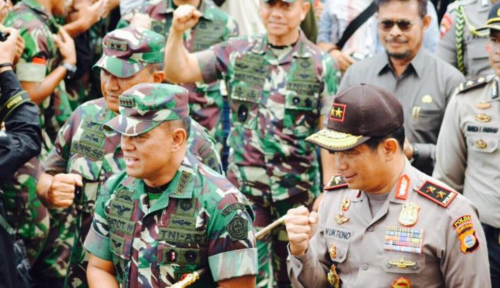 Pembangunan Hunian Tetap NTB Libatkan 1500 TNI/Polri