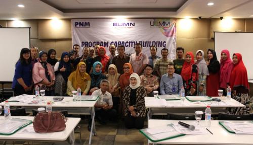 Foto Gelar Pelatihan, PNM Harap UMKM Mandiri dan Berkualitas