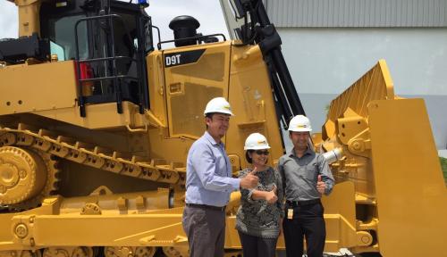 Foto Trakindo Luncurkan Hydraulic Excavator Generasi Terbaru
