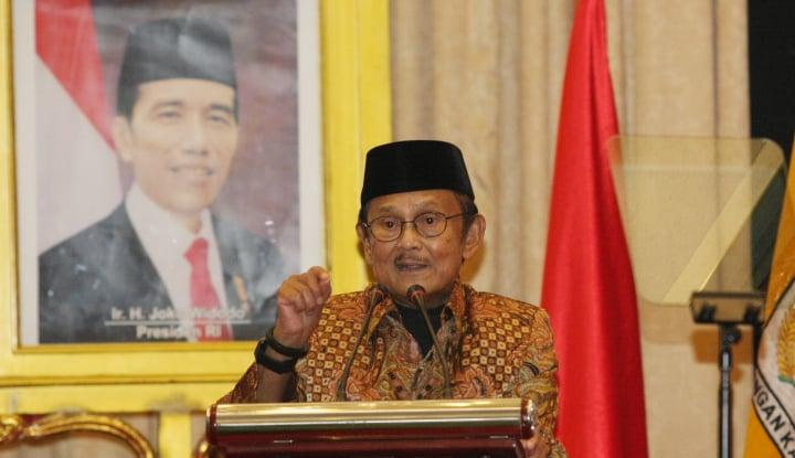 Ke Istana, Ternyata Habibie Ucapkan Selamat Jokowi Terpilih Lagi