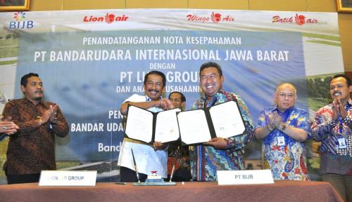 Foto Lion Air Group Siap Beroperasi di BIJB