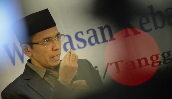Foto Berita Dukungan TGB ke Jokowi Berbuah Sanksi, Kader Demokrat NTB Tak Terima
