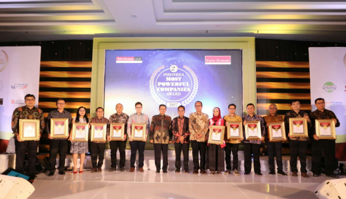 Foto Inilah Peraih Indonesia Most Powerful Companies Award 2017