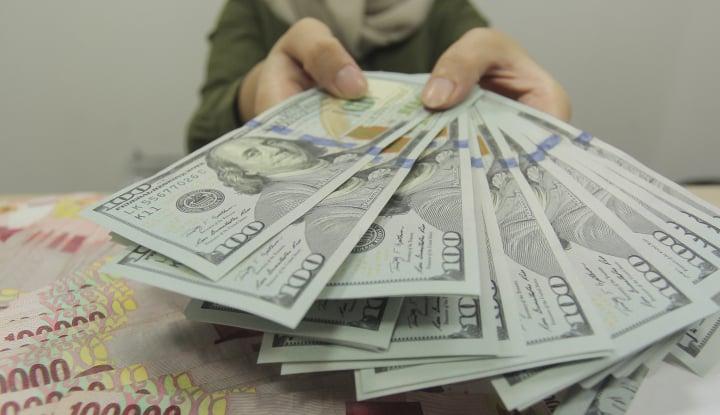 ketidakpastian pajak buat dolar as anjlok