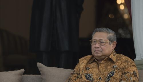 Foto Mantan Presiden SBY Tidak Hadiri Sidang Tahunan MPR