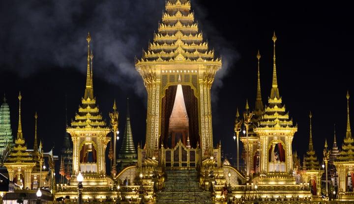 Foto Berita Pembakar Potret Raja Thailand Akhirnya Dihukum