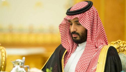 Foto Putra Mahkota Saudi Sebut Pemimpin Iran Sebagai