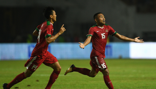 Foto Jelang Laga Indonesia vs Malaysia di Semifinal ASFC, Netizen: #GanyangMalaysia